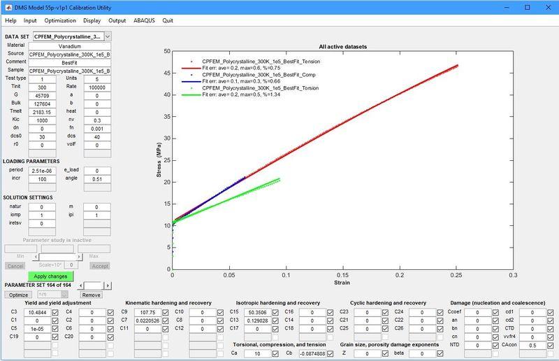 Multi-Scale Modeling of Pure Vanadium - EVOCD